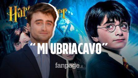 """Daniel Radcliffe : """"Harry Potter è stata la causa del mio alcolismo"""""""