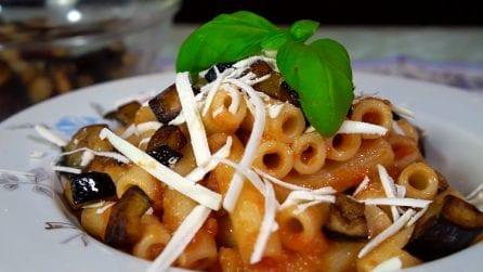 Pasta alla norma: la ricetta del primo piatto tradizionale