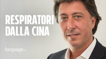 """Coronavirus, """"Così porteremo 1500 ventilatori dalla Cina all'Italia: il 27 marzo i primi 100"""""""