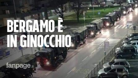"""Coronavirus, dipendente pompe funebri: """"Mai visti tanti morti, Bergamo è in ginocchio"""""""