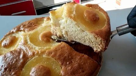 Torta soffice all'ananas: bella, buona e semplice da preparare