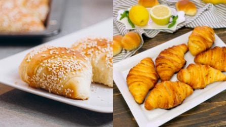 Voglia di cornetti? Prova a farli in casa seguendo queste 3 facili ricette!