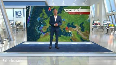 Previsioni meteo per sabato 21 marzo 2020