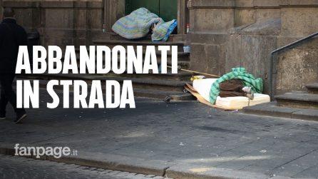 """Coronavirus, il dramma dei senza tetto: """"1.700 persone esposte al contagio, abbandonate a se stesse"""""""