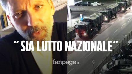 """Coronavirus, Beppe Fiorello: """"Tre giorni di lutto nazionale per i morti, basta balli sui social"""""""