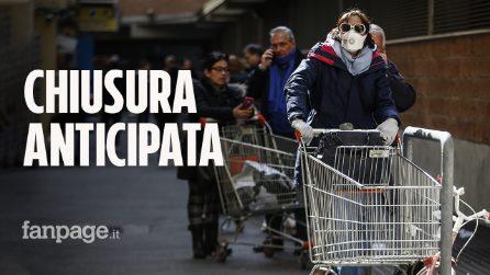 """Coronavirus, i negozi di alimentari potrebbero chiudere prima: """"Necessario se non state a casa"""""""