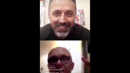 """Alfonso Signorini: """"Valentin omofobo e maleducato"""""""