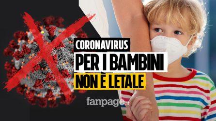 Villani, il Presidente Società Italiana Pediatria sul Coronavirus: per i bambini sintomi molto lievi