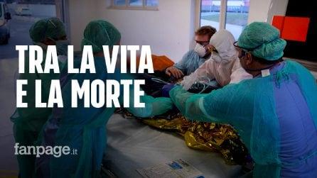 """Brescia, troppi malati di coronavirus: """"Non riusciamo a curare tutti, alcuni restano a casa"""""""