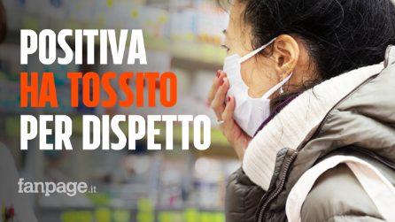 Coronavirus, positiva al COVID-19 litiga al supermercato e tossisce alla cassiera per dispetto