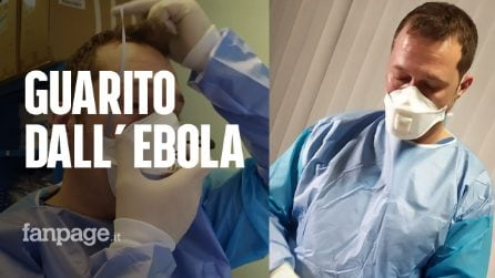 """Coronavirus, infermiere guarito da Ebola lavora allo Spallanzani: """"Ricordo giorni in isolamento qui"""""""