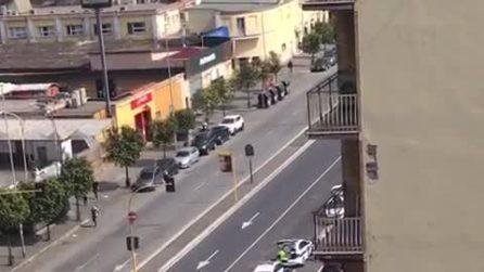 Coronavirus Roma, blocco dei vigili su via Tiburtina: controllate tutte le auto