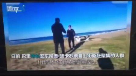 """Coronavirus, così il sindaco di Bari diventa famoso sui media cinesi: """"Andate a casa"""""""