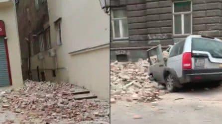 Terremoto a Zagabria, scossa di 5.3: le prime immagini