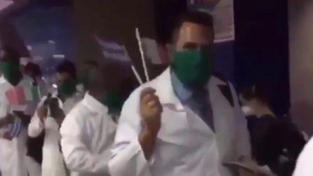 Saluto caloroso per medici e infermieri cubani, arrivano per aiutarci