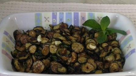 Zucchine alla scapece: la ricetta del contorno semplice e delizioso