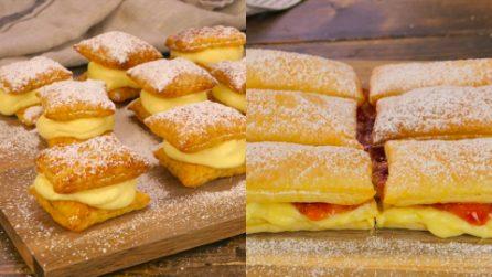 Quadrotti dolci e facili da preparare per qualsiasi occasione! Prova queste 3 ricette!