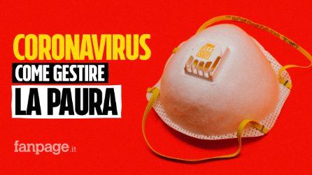 Coronavirus: come gestire la paura del contagio con i consigli della psicologa