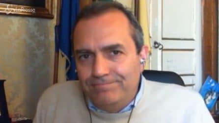 """Coronavirus, De Magistris commosso: """"Napoli vuota mi fa piangere. Napoli senza gente, non è Napoli"""""""