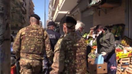 Coronavirus, a Napoli esercito in strada per i controlli