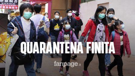 Coronavirus, fine della quarantena a Wuhan dopo due mesi di isolamento