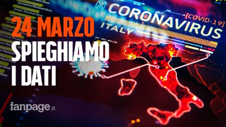 """Coronavirus Italia, il bollettino del 24 marzo: """"Lieve aumento dei contagi"""""""