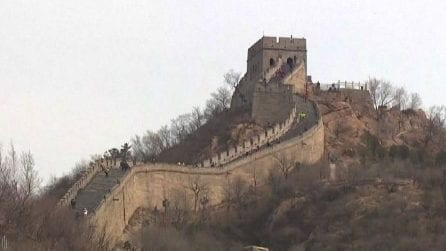 Riaperta in Cina una parte della Grande Muraglia