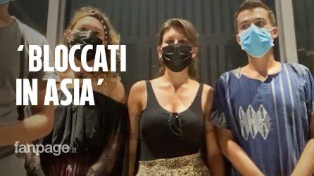 """Italiani bloccati in Cambogia: """"Abbiamo il diritto di tornare a casa, qualcuno ci aiuti"""""""