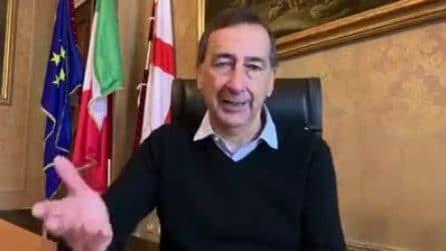 """Coronavirus a Milano, il sindaco Sala: """"Pronti 150 computer per i bambini per lezioni a distanza"""""""
