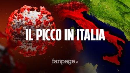 """Coronavirus, la previsione dell'Oms: """"Ecco quando potrebbe esserci il picco in Italia"""""""