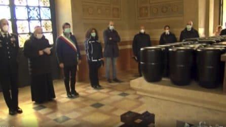 Coronavirus Bergamo, tornate le urne di 113 defunti: commemorazione intima e riservata