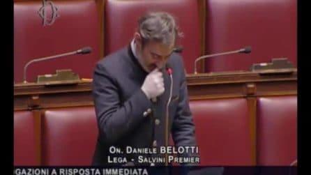 Coronavirus, Belotti (Lega) parla di Bergamo e si commuove alla Camera