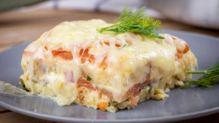 Torta di pane raffermo: ideale per una cena saporita e facile!