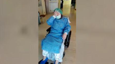 La commozione di Gianna: a 86 anni ha sconfitto il Coronavirus dopo 7 settimane