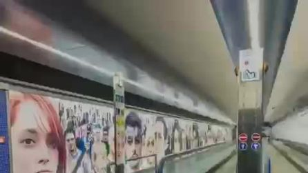 Le stazioni dell'arte del Metrò in videoclip, così chi è a casa per il Coronavirus potrà vederle