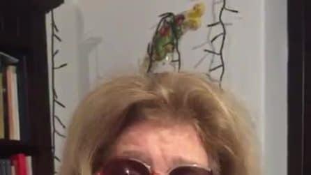 """Iva Zanicchi: """"Abbraccio Chiambretti, non è vero che ci ha nascosto il coronavirus"""""""