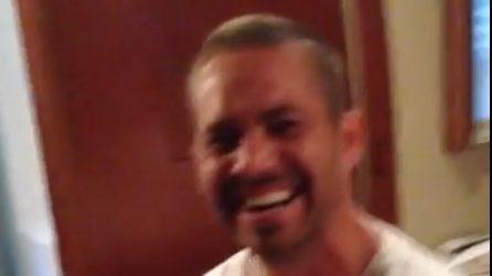 Paul Walker sorridente in un video inedito pubblicato dalla figlia