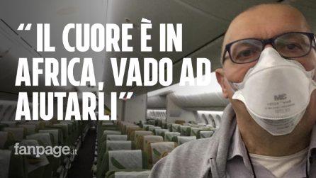 """Giovanni, il medico italiano che va in Africa per l'emergenza: """"Dobbiamo evitare il disastro"""""""