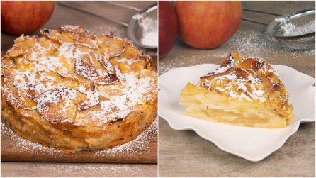 Gateau invisibile di mele: la torta alta e cremosa che conquisterà tutti!