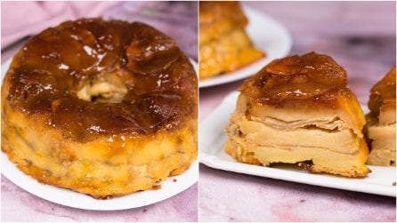 Apple pudding: creamy and simply delicious!