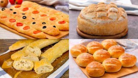 Cosa da più soddisfazione del fare il pane con le proprie mani? Se segui queste ricette non sbagli!