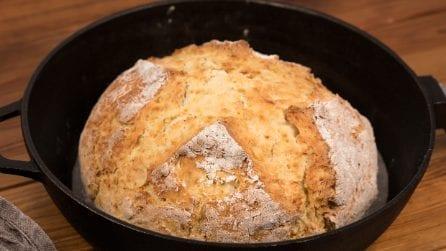 Pane fatto in casa senza lievito: avrete bisogno solo di bicarbonato e succo di limone!