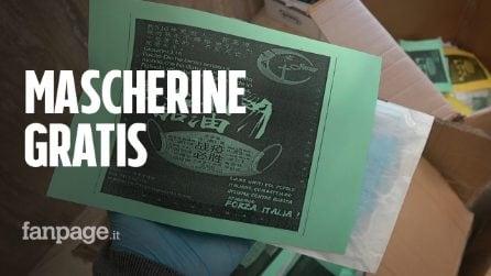 """Roma, cinesi distribuiscono mascherine gratis all'Esquilino: """"Ci stanno aiutando solo loro"""""""