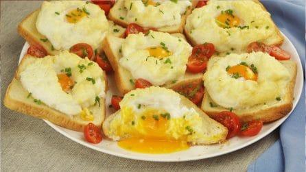 Nuvole di uova: i toast unici e saporiti che piaceranno a tutta la famiglia!
