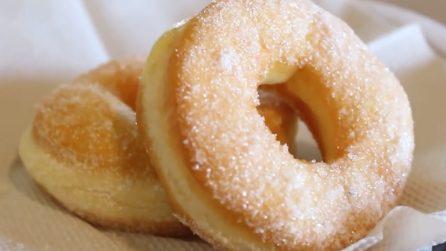 Ciambelline fritte e soffici: la ricetta semplice e golosissima