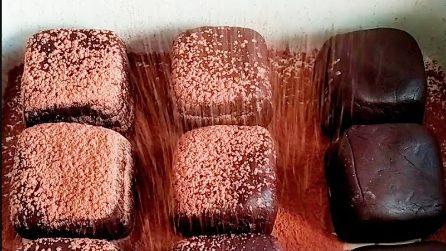 Tartufini al cioccolato con 2 ingredienti: belli, veloci e golosi