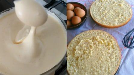 Pan di spagna senza lievito: la ricetta per averlo soffice e gustoso