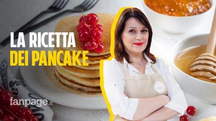 La ricetta dei pancake di Sonia Peronaci