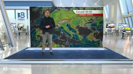 Previsioni meteo per giovedì 02 aprile 2020