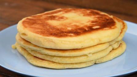 Pane senza lievito: come farlo in soli 5 minuti in padella!